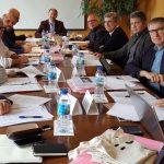 Reunión na ETSAC da permanente de Escolas de Arquitectura de España, CDEAE