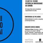 Manifesto Gutai: conferencia da profesora Luz Paz + concerto
