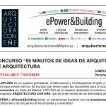 "Concurso ""59 minutos de ideas de arquitectura"" para estudantes de arquitectura"