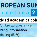 A ETSAC colaboradora académica do European BIM SUMMIT 2019