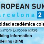 A ETSAC colaboradora académica do European BIM SUMMIT 2019