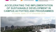 Sustainable Development in Campus Activities and Programmes International symposium. A Coruna, Spain, 2nd-3rd December 2019