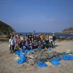 Limpeza de praias día 8 de xuño. OMA-UDC