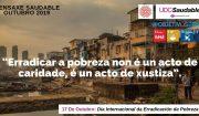 17 de outubro: Día Internacional de Erradicación da Pobreza. UDC Saudable