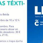 Mapas téxtiles: obradoiro con Rosario Belda
