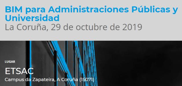 BIMtour ETSAC Universidade – Administración Publica  – Profesionais – Construtores – Fabricantes