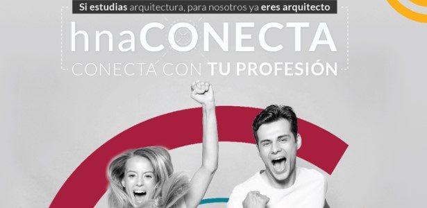 hna CONECTA: promoción para estudantes de arquitectura