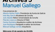 Archives 5. Manuel Gallego (mércores 15 ás 20:00)