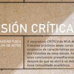 Sesión Crítica do MUA