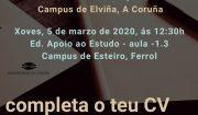 Convocatoria Erasmus+ prácticas SMT 2020/21
