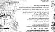 """Presentación del libro """"Reflexiones desde la arquitectura"""""""