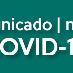 Comunicado | Notice COVID-19 14.03.2020 11:00