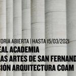 Bolsa Real Academia de Bellas Artes de San Fernando – Fundación Arquitectura COAM