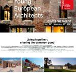 Os Young European Architects Awards 2020 recoñecen o talento da ETSAC