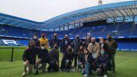 A ETSAC visita o Estadio Municipal de Riazor