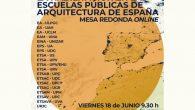 Mesa Redonda Online: La Habilitación en las Escuelas Públicas de Arquitectura de España