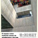 O espazo como material común da arquitectura e da arte