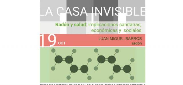 """Conferencia """"Radón y salud. Implicaciones sanitarias, económicas y sociales"""""""